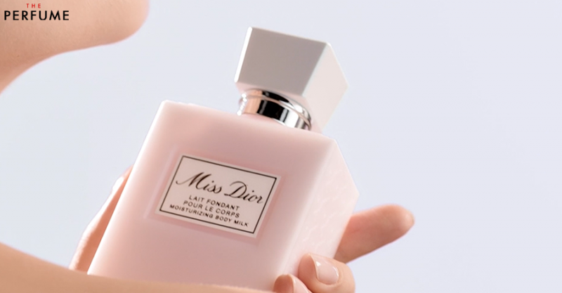 body lotion miss dior